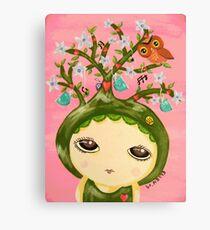 She Grows A Tree (Original Version) Canvas Print