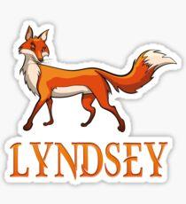Lyndsey Fox Sticker