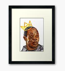 Omar The King Framed Print