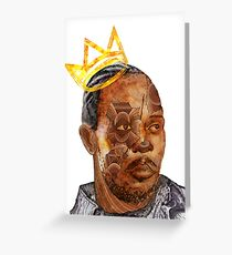Omar The King Greeting Card