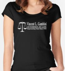 My Cousin Vinny - Vincent Gambini Attorney At Law  Women's Fitted Scoop T-Shirt