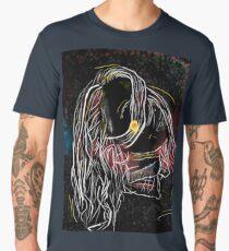 Artistic portrait drawing Men's Premium T-Shirt