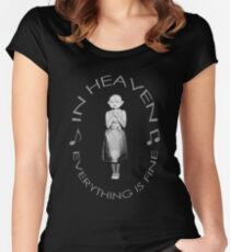 Lady in the radiator singing Women's Fitted Scoop T-Shirt