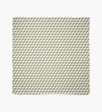 3D Cube pattern light-yellow Scarf