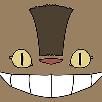 Cat Bus - Totoro (Tonari no Neko) by PyroDraco