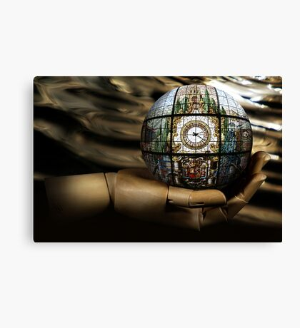 ATime'sDroplet...Meditation Canvas Print