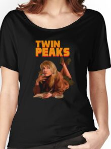 Twin Peaks Fiction (Pulp Fiction parody) Women's Relaxed Fit T-Shirt