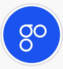 omiseGO OMG Cryptocurrency Icon Sticker