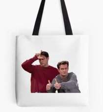 Chandler Bing Joey Tribbiani Friends Tote Bag