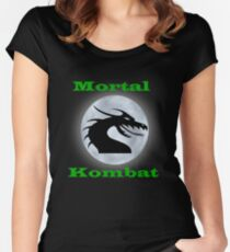 Mortal Kombat Women's Fitted Scoop T-Shirt