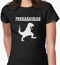 Pregasaurus - Pregnant Women's Fitted T-Shirt