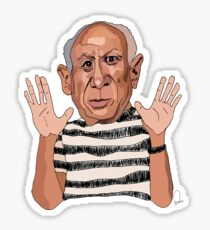 Picasso  Sticker