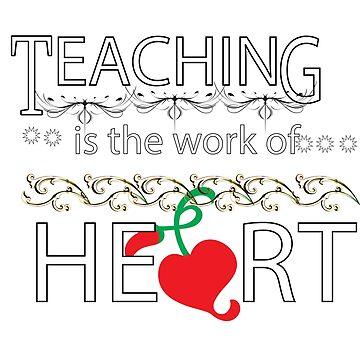 teaching tee by kaunjunetwork