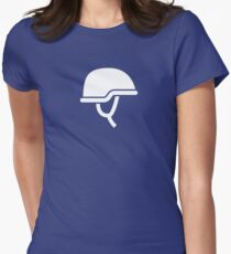 Soldier Helmet Women's Fitted T-Shirt