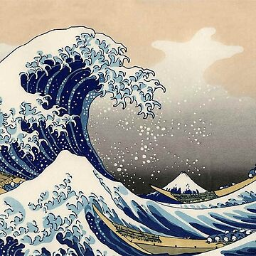 GR8 WAVE BY HOKUSAI by Frejjuya