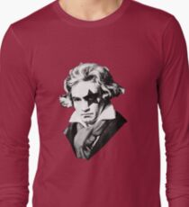 Glam rock Beethoven Long Sleeve T-Shirt