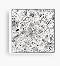 pet en guele (fart in mouth) Canvas Print