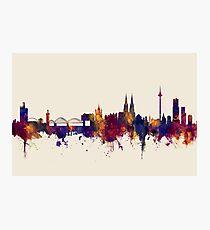 Cologne Germany Skyline Photographic Print
