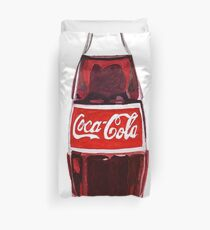 coca cola Duvet Cover