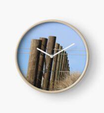 Fence Clock