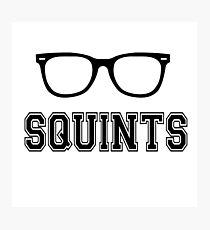 Squints - The Sandlot Photographic Print