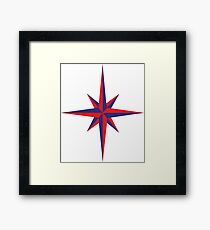 compass Framed Print
