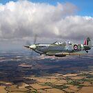 Twin seat Spitfire SM520 by Gary Eason