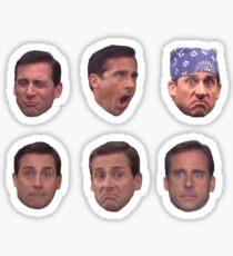 Michael Scott Sticker Set Sticker