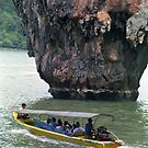 Ko Tapu - Phang Nga Bay, Southern Thailand by Bev Pascoe