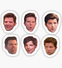 Ben Wyatt, Human Disaster Sticker Set Sticker
