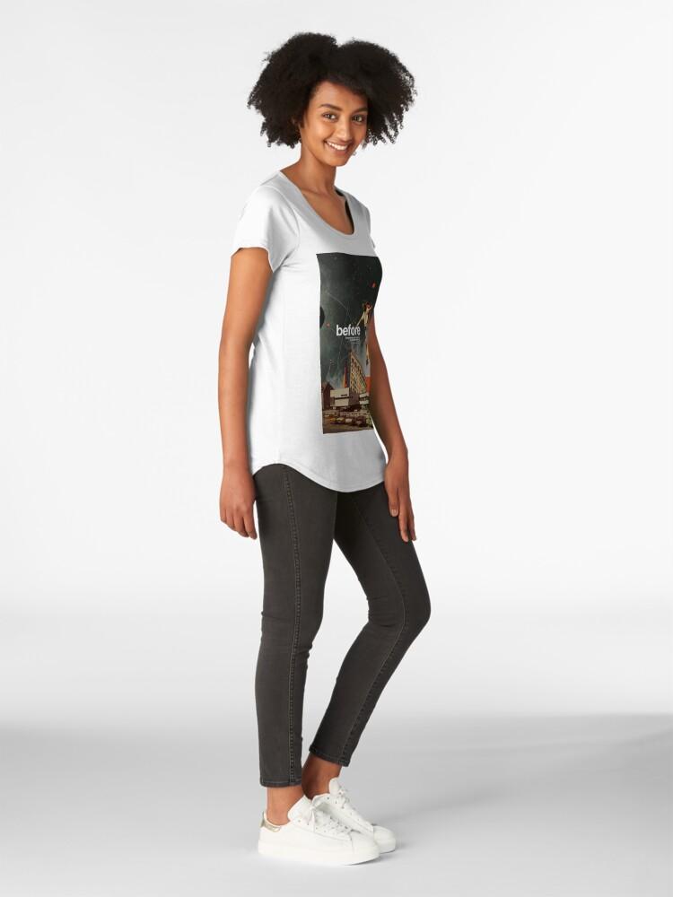 Alternative Ansicht von Vor Premium Rundhals-Shirt