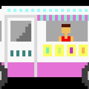 Ice Cream Truck - The Kids' Picture Show - 8-Bit by KidsPictureShow