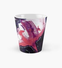 Abstract Painting in Purple, White and Pink - Untitled 18 Tall Mug