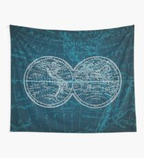 Antique World Map Tapestry.Antique World Map Wall Tapestries Redbubble