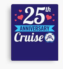 25th Anniversary Cruise Canvas Print