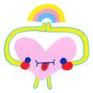 Heart Rainbow by beckygarratt