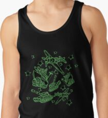 Military Forces Line Art  Tank Top