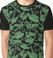 Military Forces Line Art  Graphic T-Shirt