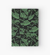 Military Forces Line Art  Hardcover Journal