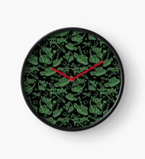 Military Forces Line Art  Clock