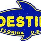 Fishing Destin Florida Deep Sea Fish Boat Tuna by MyHandmadeSigns
