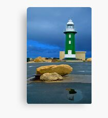 A Dull Morning Canvas Print
