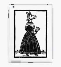Miss Piggy - Old Style iPad Case/Skin