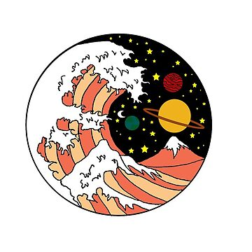 Hokusai Wave by bkidesigns