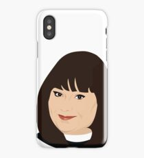 Dawn French as Geraldine Granger, The Vicar of Dibley iPhone Case/Skin
