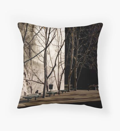 untitled #38b Throw Pillow