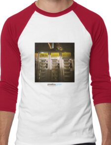Holga Burgers Men's Baseball ¾ T-Shirt