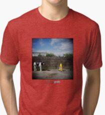 Holga Cow Tri-blend T-Shirt