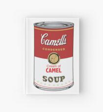 Camell's Cream of CAMEL Soup Pop Art Hardcover Journal