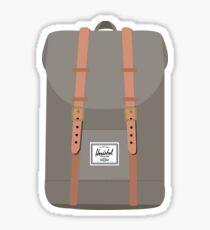 Herschel Backpack - Green Sticker